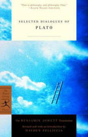Mod Lib Selected Dialogues Plato by Plato image