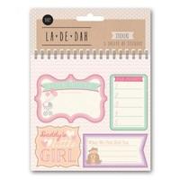 La De Dah: Baby Sticker Book - Girl