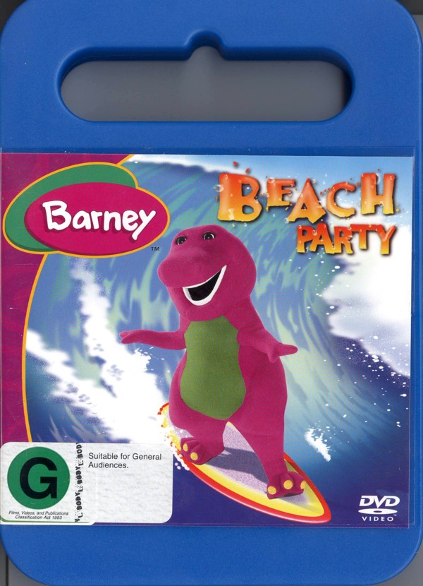 Barney: Beach Party on DVD image