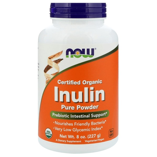 Now Foods Inulin Prebiotic (227g) image