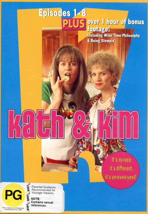 Kath & Kim - Series 1 (2 Disc Set) on DVD image