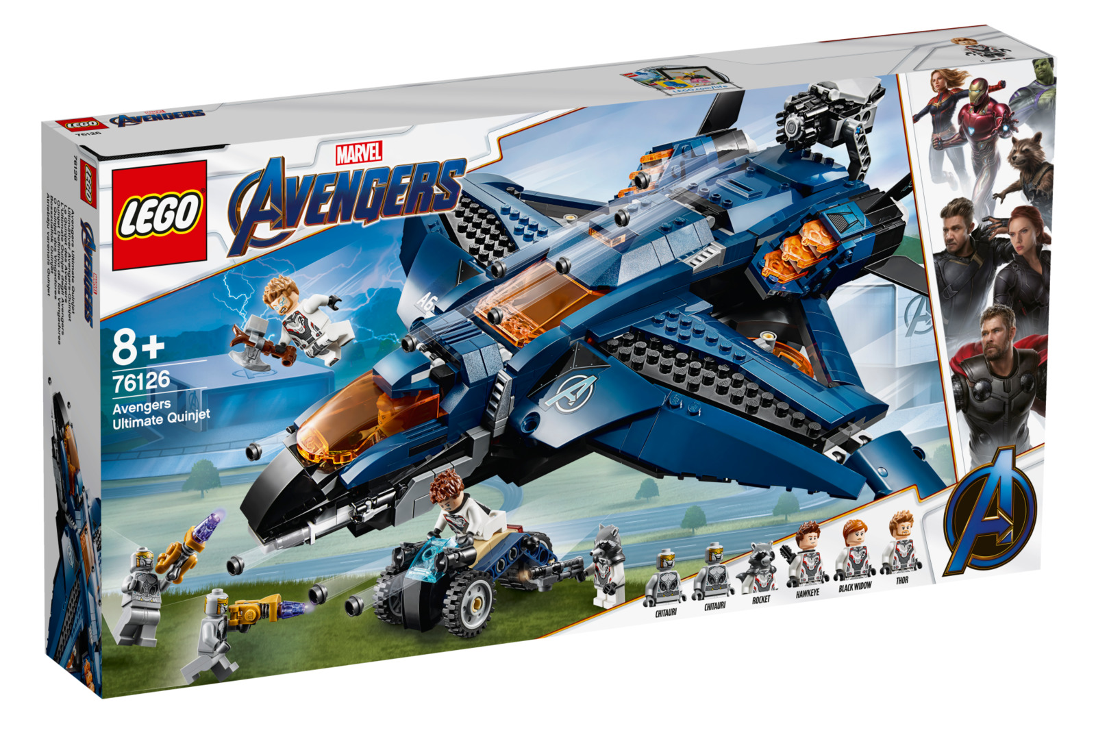 LEGO Super Heroes: Avengers - Ultimate Quinjet image
