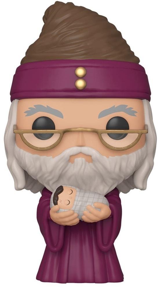 Harry Potter: Dumbledore (with Baby Harry) - Pop! Vinyl Figure image