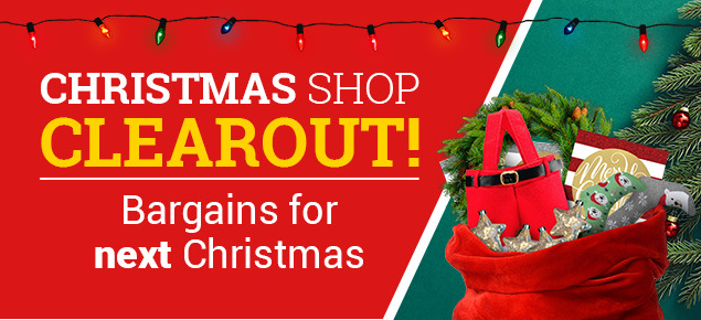 Christmas Shop Clearout!