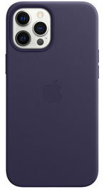 Apple iPhone 12 Pro Max Leather Case with MagSafe - Deep Violet