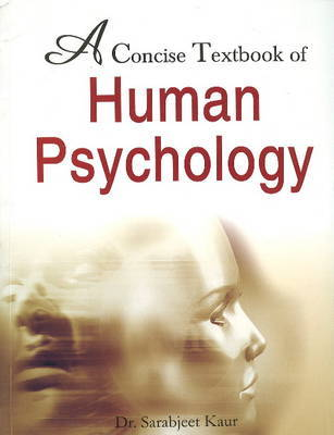 Concise Textbook of Human Psychology by Kaur Sarabjeet image