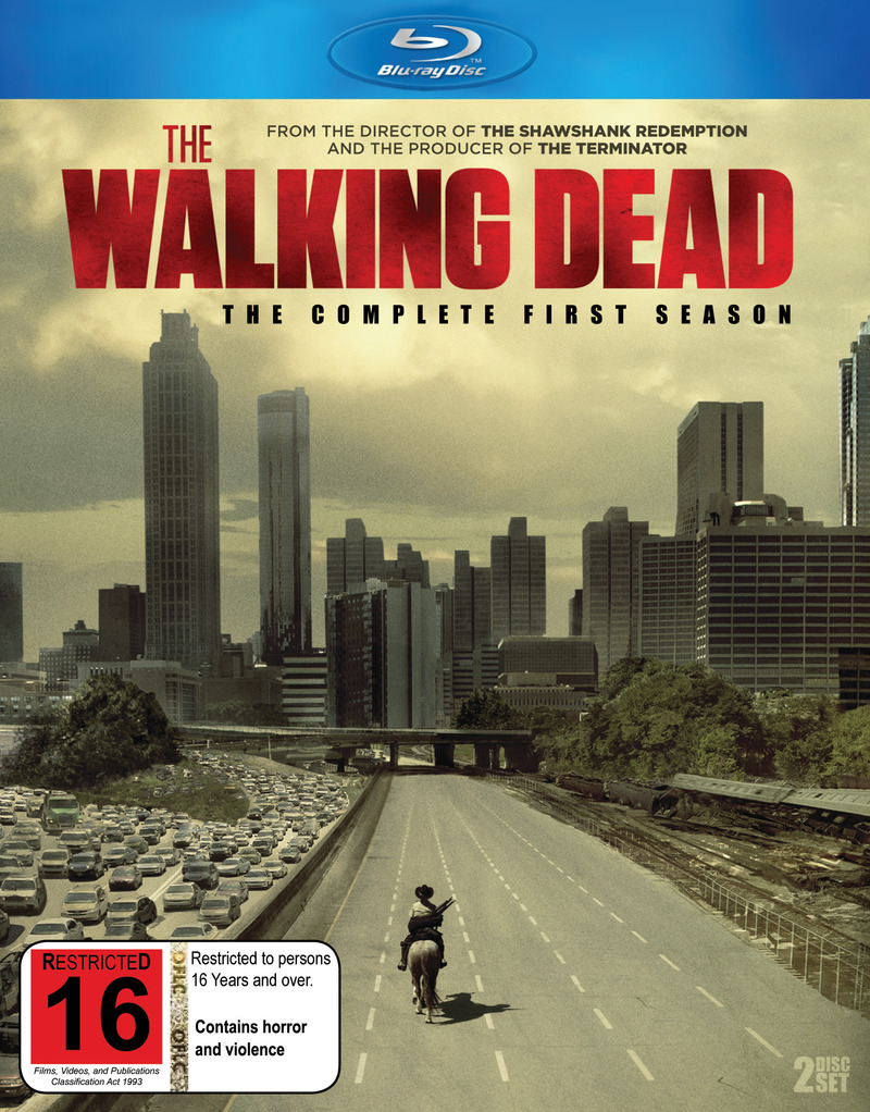 The Walking Dead - The Complete First Season on Blu-ray image