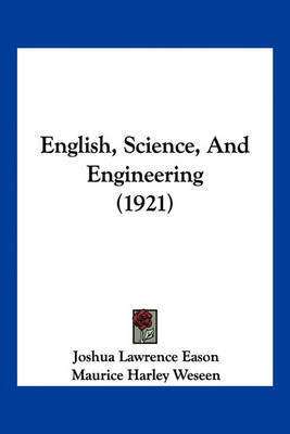 English, Science, and Engineering (1921) image