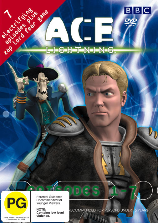 Ace Lightning Series 1 (Episodes 1-7) on DVD