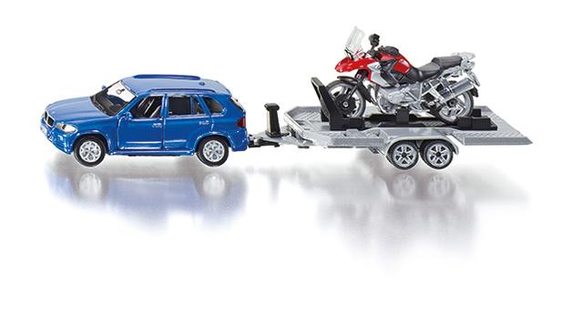 Siku BMW X5 with Trailer & BMW