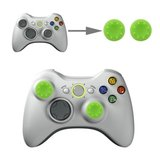 Silicone Key Protector Thumb Grip Caps for PS4 & Xbox (Green) for Xbox One