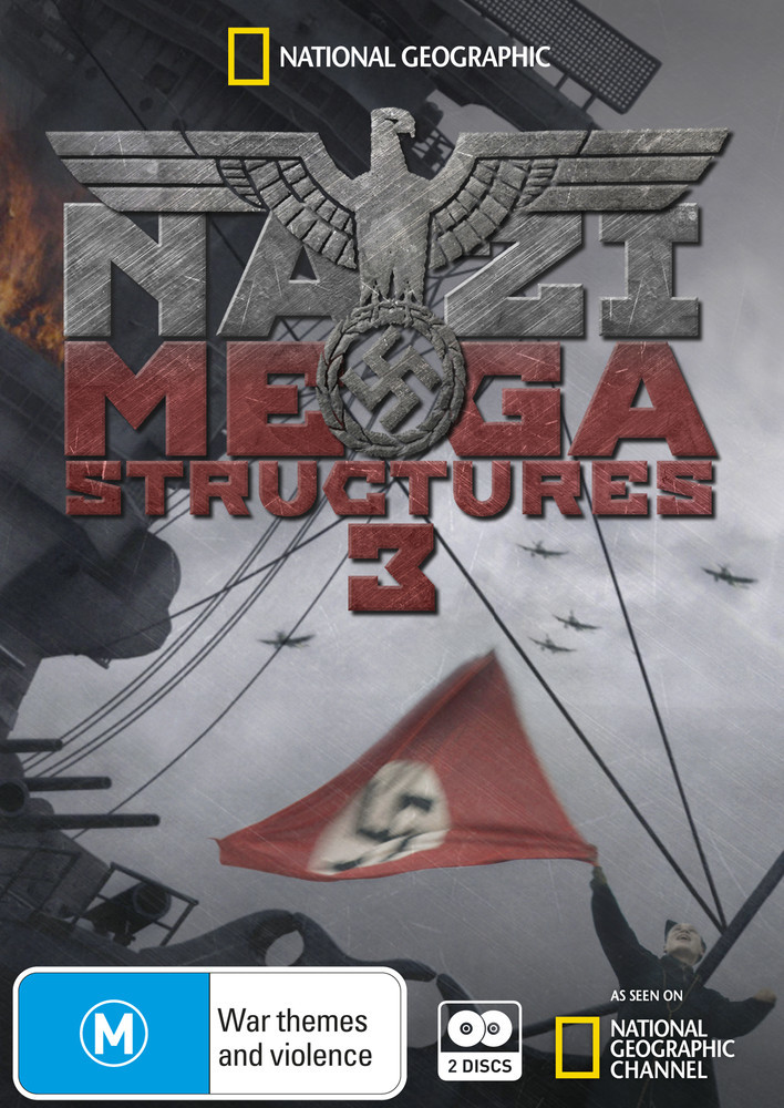 National Geographic: Nazi Megastructures 3 on DVD image