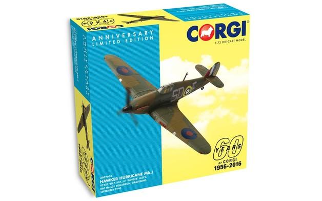 Corgi: 60th Anniversary 1/72 Hawker Hurricane Mk.I Diecast Model