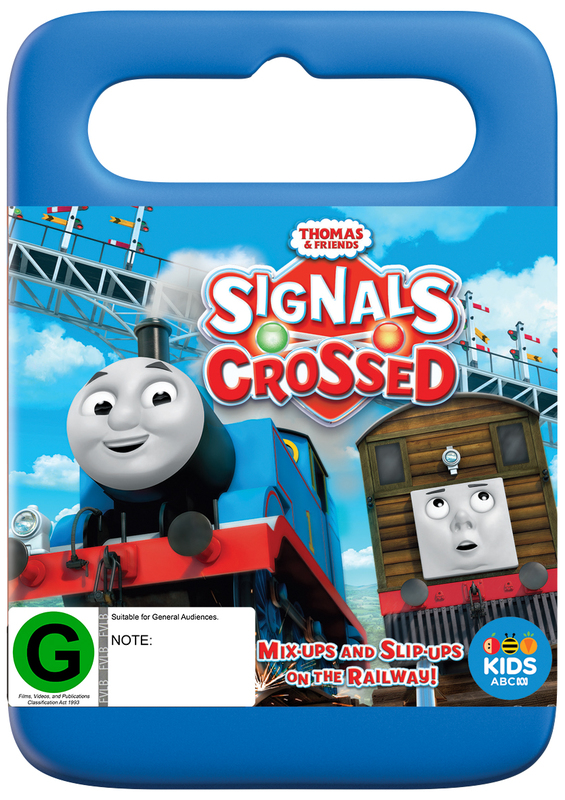 Thomas & Friends: Signals Crossed on DVD