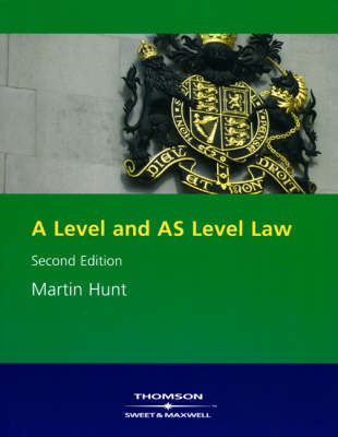 A Level and as Level Law by Martin Hunt image