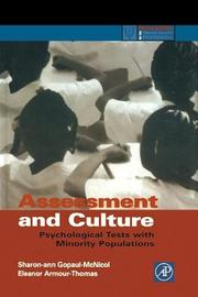 Assessment and Culture by Sharon-Ann Gopaul McNicol