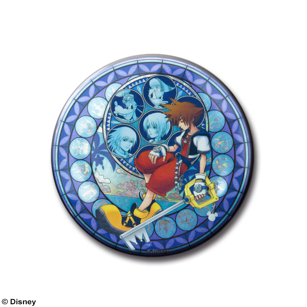 Kingdom Hearts Can Badge (Blind Box) image