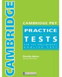 Cambridge Ket Practice Tests by Dorothy Adams image