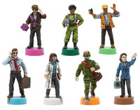 Pandemic: 10th Anniversary Edition - Painted Figures