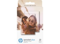 "HP: Sprocket Plus Photo Paper - 2.3x3.4"" (20 Sheets)"