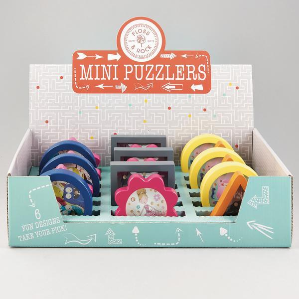 Floss & Rock: Mini Puzzlers - Marble Game (Assorted Designs)