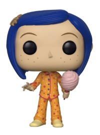 Coraline (PJs Ver.) - Pop! Vinyl Figure (LIMIT - ONE PER CUSTOMER)