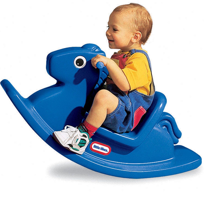 Little Tikes: Rocking Horse - Blue image