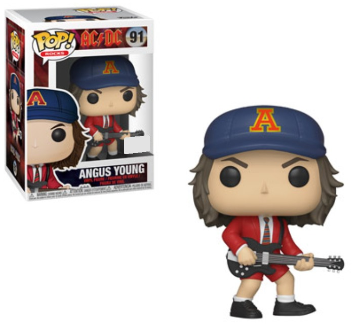 AC/DC - Angus Young (Red Jacket) Pop! Vinyl Figure image
