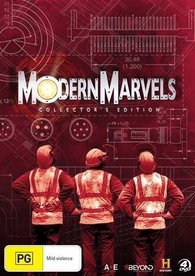 Modern Marvels Collector's Edition on DVD image