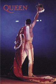 Queen Maxi Poster - Freddie with the Crown (1011)