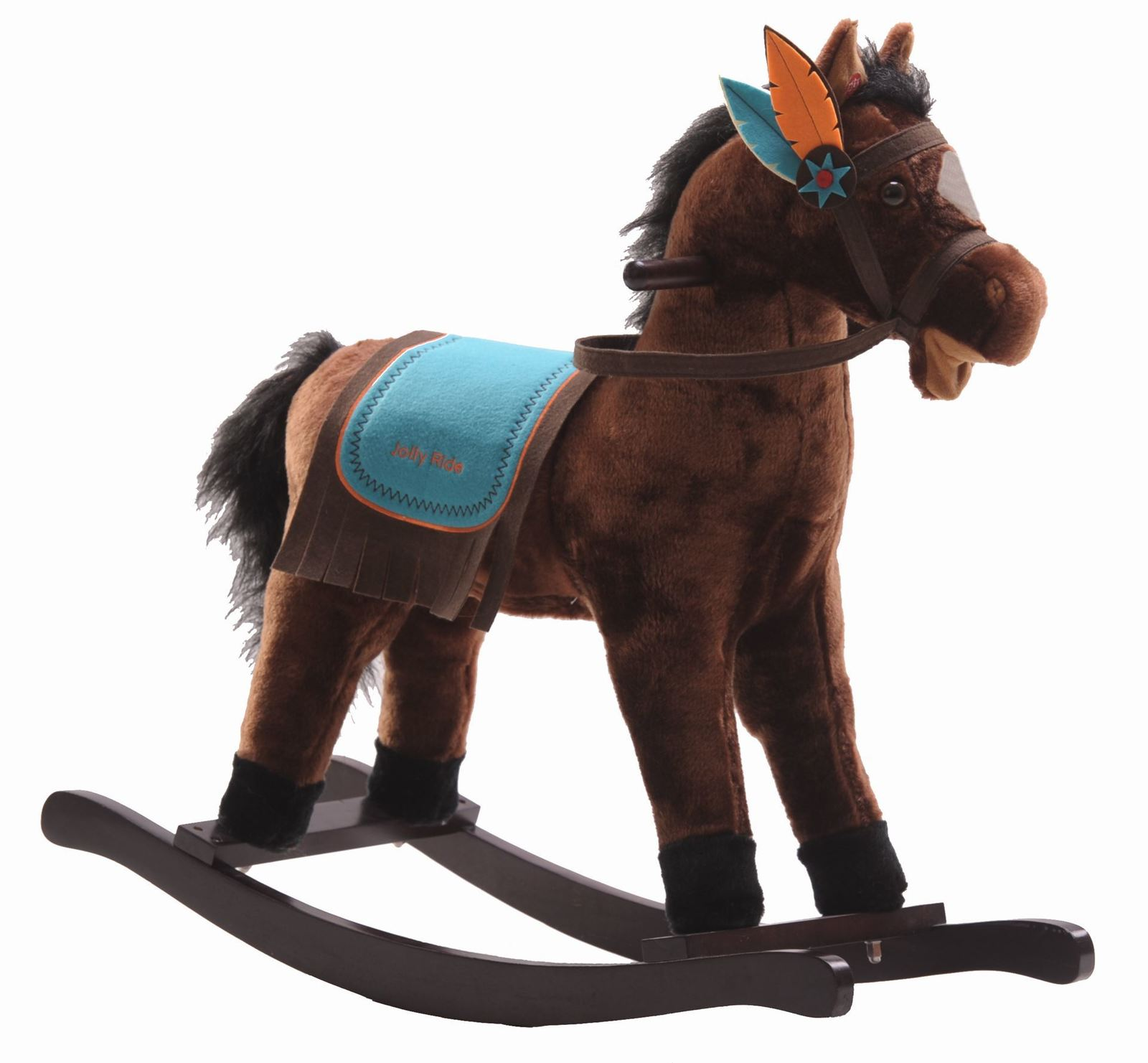 Jolly Ride: Rocking Horse - Western Style image
