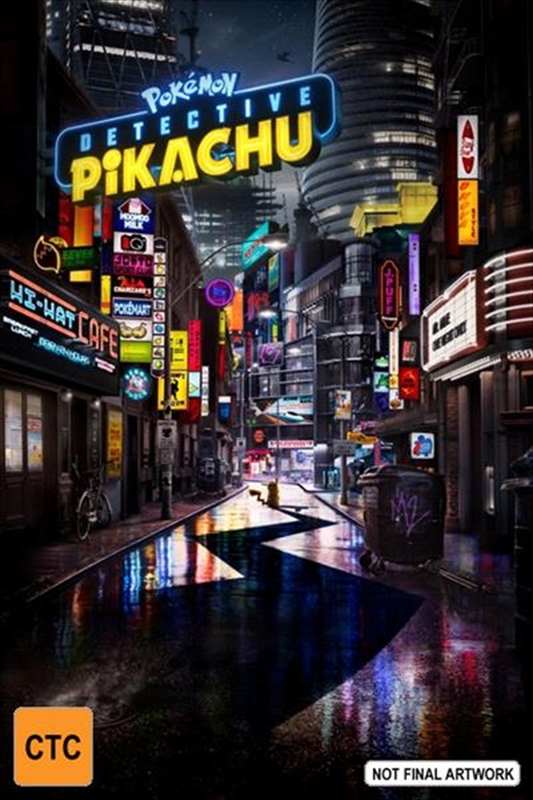 Detective Pikachu on Blu-ray