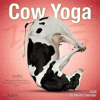 Cow Yoga 2020 Mini Wall Calendar by Willow Creek Press