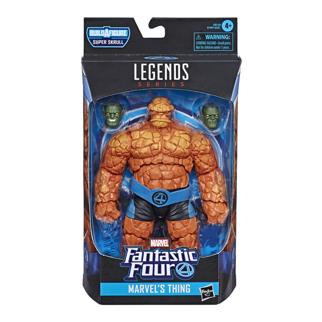"Marvel: Legends Series - Thing 6"" Figure"