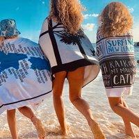 Moana Road: Beach Towel - Sunset
