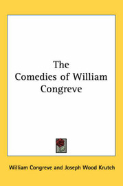 The Comedies of William Congreve by William Congreve image