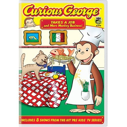 Curious George - Vol. 3: Takes A Job And More Monkey Business! on DVD