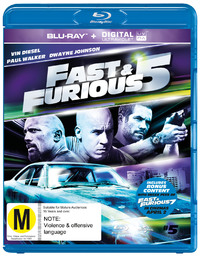 Fast And Furious 5 on Blu-ray