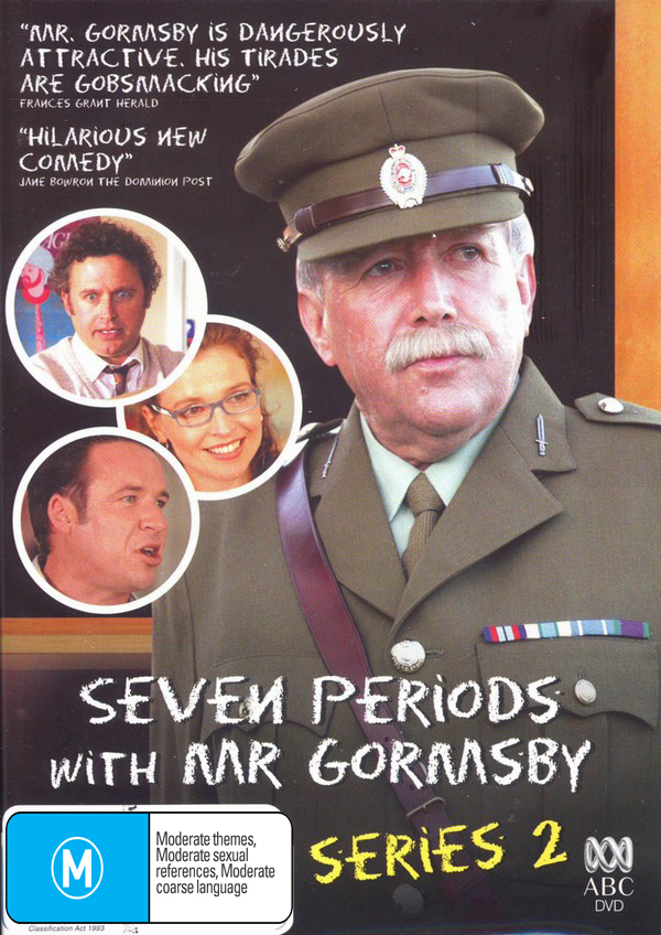 Seven Periods With Mr Gormsby - Series 2 DVD image