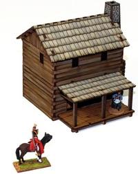 New England Settler's Loft Cabin