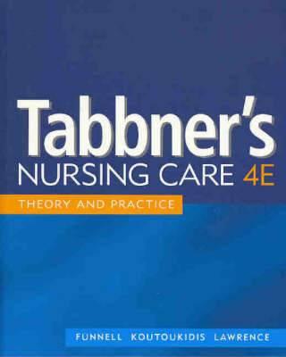 Tabbner's Nursing Care: Theory and Practice by Rita Funnell image