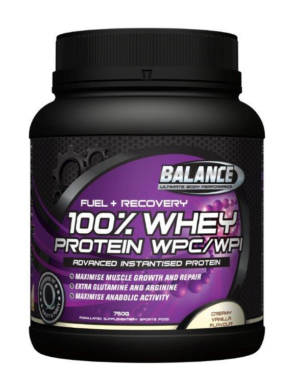 Balance 100% Whey Protein 'Original' - Vanilla (750g)