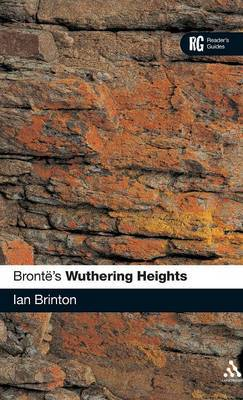 Bronte's Wuthering Heights by Ian Brinton image