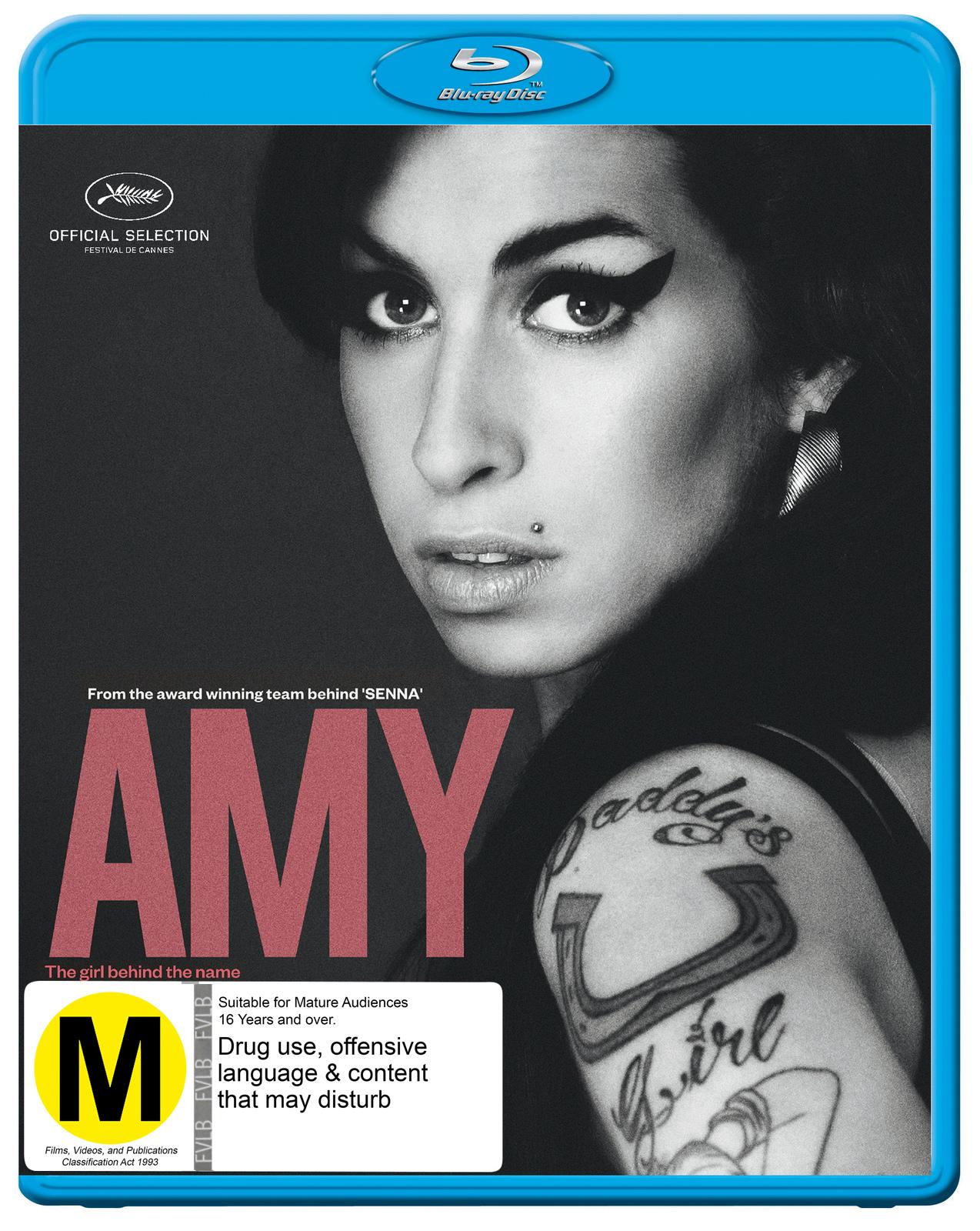 Amy on Blu-ray image