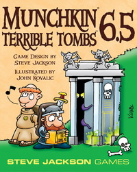 Munchkin: 6.5 Terrible Tombs - Game Expansion