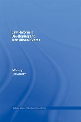 Law Reform in Developing and Transitional States by Tim Lindsey image