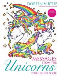 Messages from the Unicorns Coloring Book by Doreen Virtue