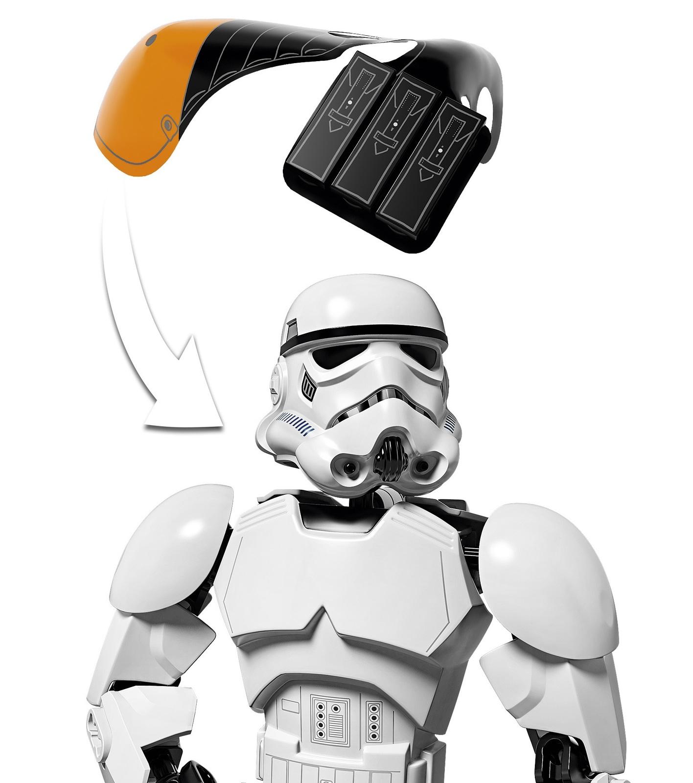 LEGO Star Wars Stormtrooper Commander 75531 Toy At