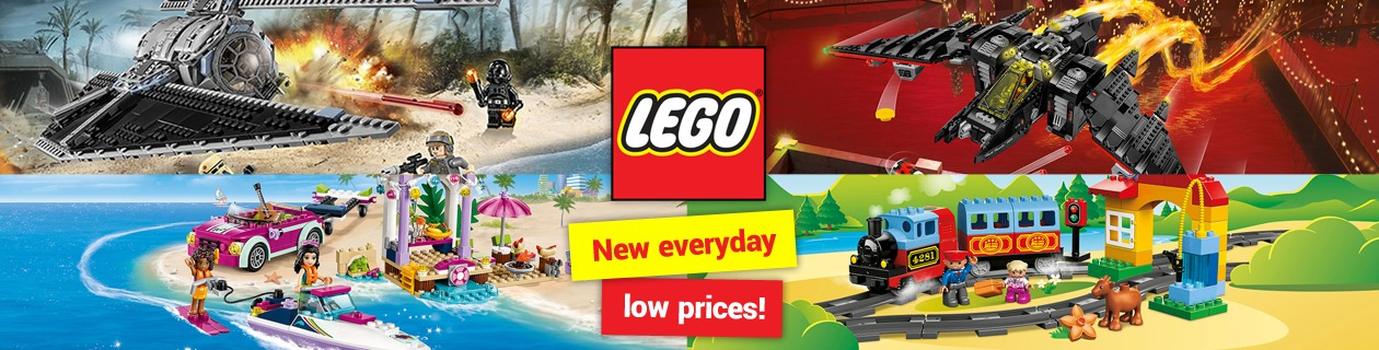 Everyday low prices on LEGO sets