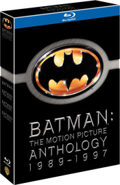 Batman: The Motion Picture Anthology - 1989-1997 (4 Disc Box Set) on Blu-ray